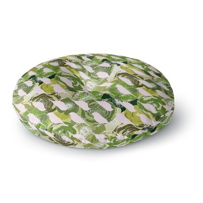 Anchobee Aisha Pattern Round Floor Pillow Size: 26 x 26