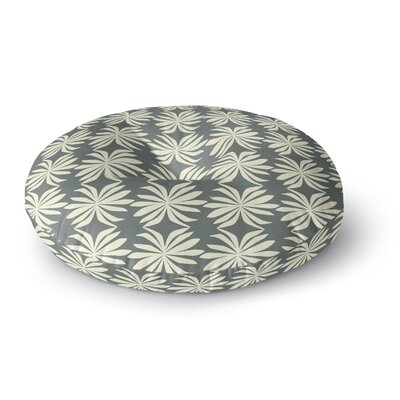 Amy Reber Palm Pattern Round Floor Pillow Size: 23 x 23
