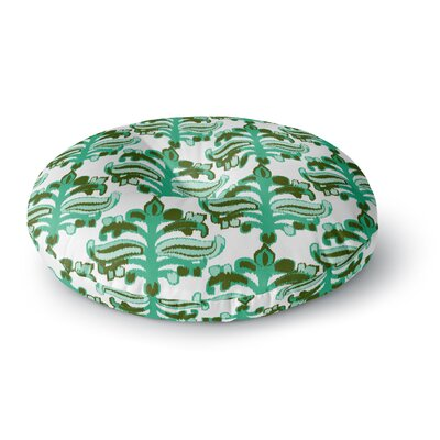 Amy Reber Chandelier Ikat Round Floor Pillow Size: 26 x 26