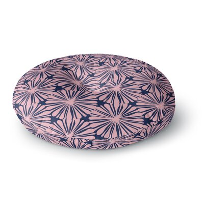Amy Reber Daisy Pattern Round Floor Pillow Size: 23 x 23