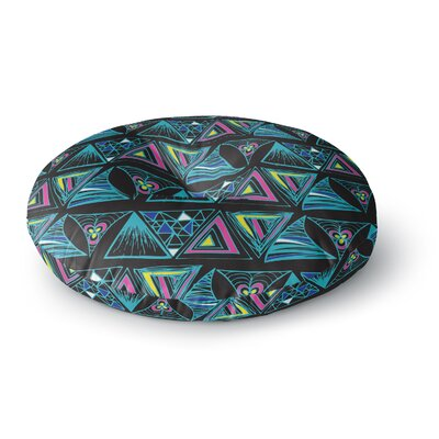 Anneline Sophia Its Complicated Round Floor Pillow Size: 26 x 26