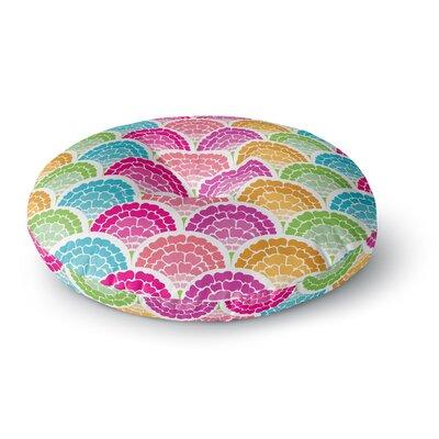 Anneline Sophia Rina Round Floor Pillow Size: 23 x 23