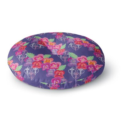 Anneline Sophia Beautifully Boho Round Floor Pillow Size: 23 x 23