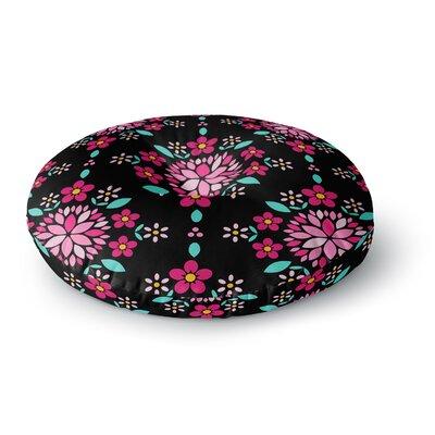 Anneline Sophia Dahlia Mandala Round Floor Pillow Size: 26 x 26