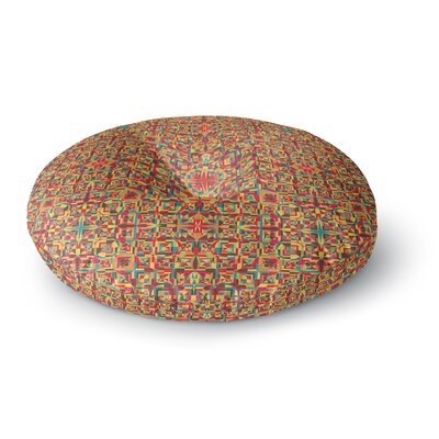 Allison Soupcoff Circus Round Floor Pillow Size: 26 x 26