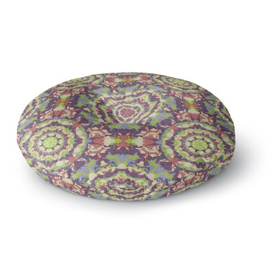 Allison Soupcoff Plum Lace Round Floor Pillow Size: 23 x 23