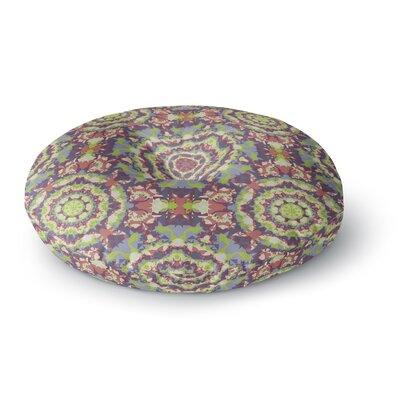 Allison Soupcoff Plum Lace Round Floor Pillow Size: 26 x 26