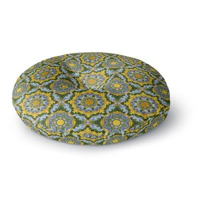 Allison Soupcoff Sunflower Round Floor Pillow Size: 26 x 26
