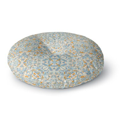 Allison Soupcoff Coastal Round Floor Pillow Size: 26 x 26