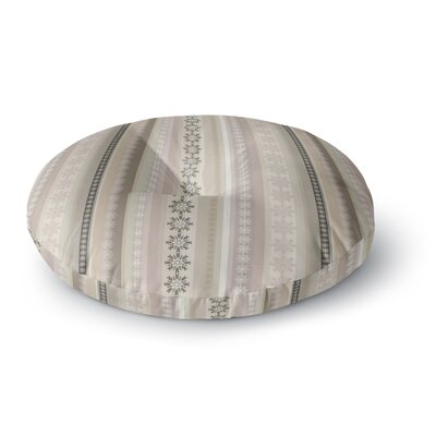 Allison Soupcoff Pure Round Floor Pillow Size: 26 x 26