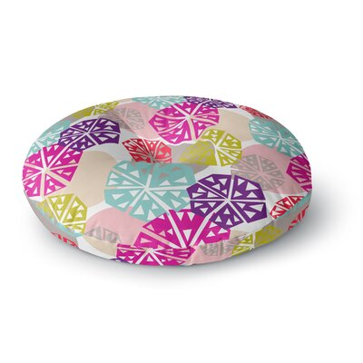 Agnes Schugardt Pie in the Sky Round Floor Pillow Size: 26 x 26