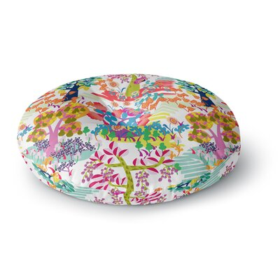 Agnes Schugardt Fruit of the Earth Round Floor Pillow Size: 26 x 26