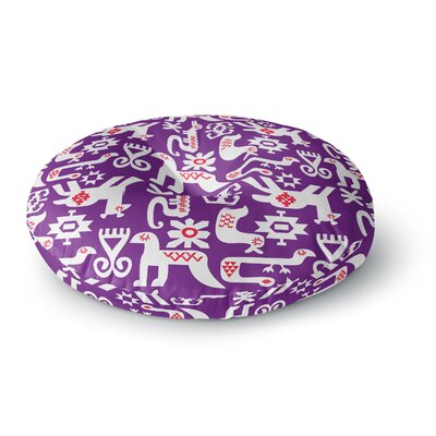 Agnes Schugardt The Tribe Round Floor Pillow Size: 23 x 23