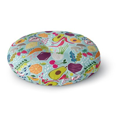 Agnes Schugardt Garden Song Round Floor Pillow Size: 23 x 23