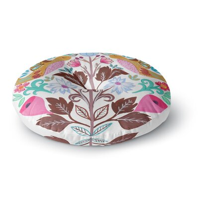 Agnes Schugardt Spring Meadow Round Floor Pillow Size: 26 x 26