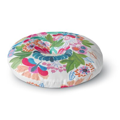 Agnes Schugardt Bouquet Round Floor Pillow Size: 26 x 26