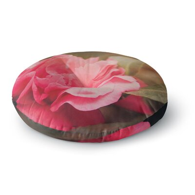 Angie Turner Camelia Flower Round Floor Pillow Size: 23 x 23