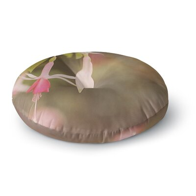 Angie Turner Fuchsia Flower Round Floor Pillow Size: 23 x 23