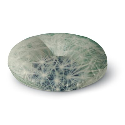 Angie Turner Fuzzy Wishes Round Floor Pillow Size: 26 x 26