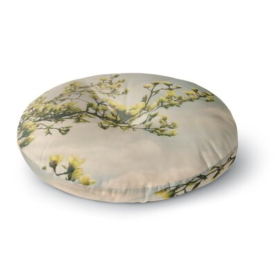 Angie Turner Magnolias Photography Round Floor Pillow Size: 26 x 26