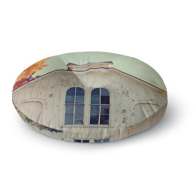 Angie Turner Fall Barn Top Photgraphy Round Floor Pillow Size: 23 x 23
