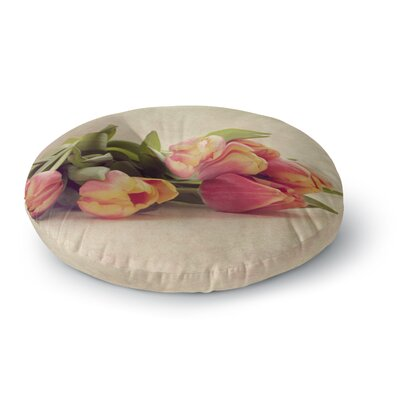 Angie Turner Delicate Spring Photography Round Floor Pillow Size: 26 x 26