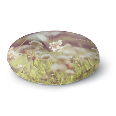 Angie Turner Daydream Floral Round Floor Pillow Size: 26 x 26