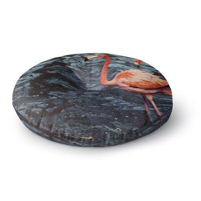 Angie Turner Flamingo Animals Round Floor Pillow Size: 26 x 26