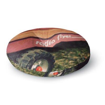 Angie Turner Radio Flyer Round Floor Pillow Size: 26 x 26