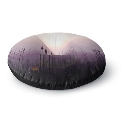 Angie Turner Sunrise Cattails Round Floor Pillow Size: 26 x 26