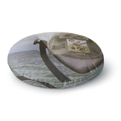 Angie Turner Ocean View Round Floor Pillow Size: 26 x 26