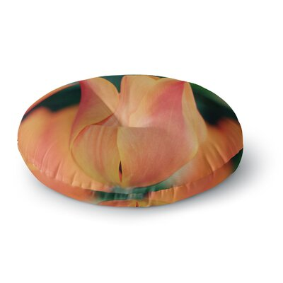 Angie Turner Tulip Round Floor Pillow Size: 23 x 23