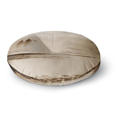 Angie Turner Misty Morning Round Floor Pillow Size: 23 x 23