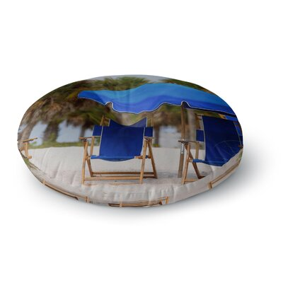 Angie Turner Ready to Relax Digital Photography Round Floor Pillow Size: 23 x 23