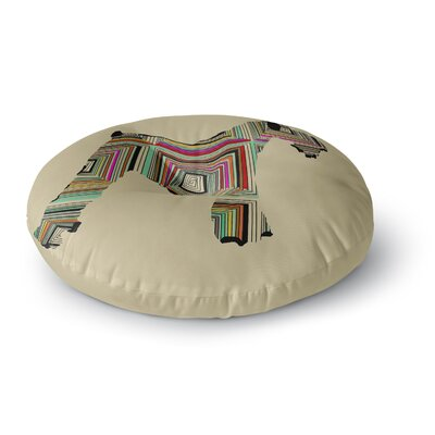 Bri Buckley Schuavzer Round Floor Pillow Size: 23 x 23