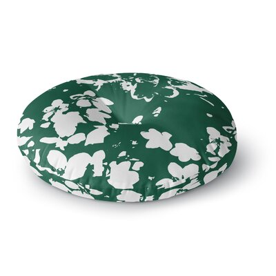 Love Midge Helena Floral Abstract Round Floor Pillow Size: 23 x 23