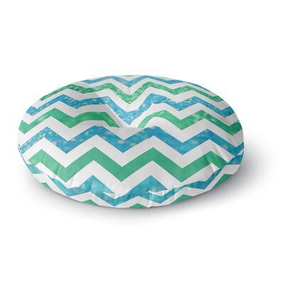 Beth Engel By The Sea Round Floor Pillow Size: 26 x 26