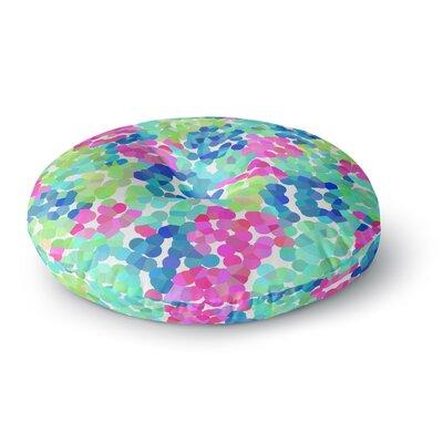 Beth Engel Flower Garden Round Floor Pillow Size: 26 x 26