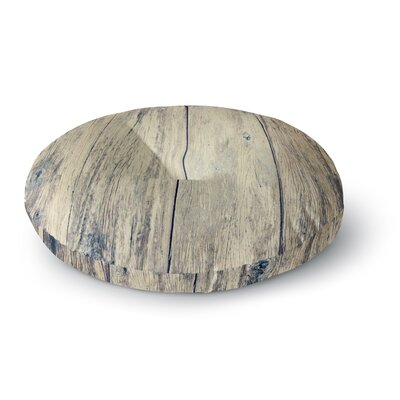 Beth Engel Wood Photography II Round Floor Pillow Size: 26 x 26