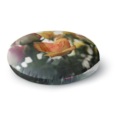 Beth Engel Sweet Reminder Flowers Round Floor Pillow Size: 26 x 26
