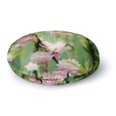 Beth Engel The Best Things in Life are Round Floor Pillow Size: 26 x 26