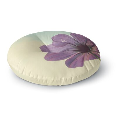 Beth Engel Torn But Never Broken Flower Round Floor Pillow Size: 26 x 26