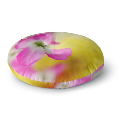 Beth Engel Lucky One Floral Photography Round Floor Pillow Size: 23 x 23