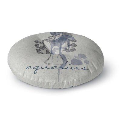 Belinda Gillies Aquarius Round Floor Pillow Size: 26 x 26
