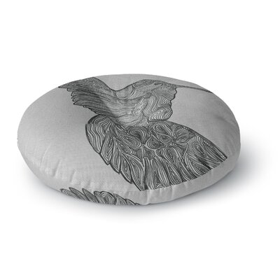 Belinda Gillies Hummingbird Round Floor Pillow Size: 23 x 23