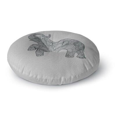Belinda Gillies Elephant Round Floor Pillow Size: 23 x 23