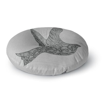 Belinda Gillies Dove Round Floor Pillow Size: 23 x 23