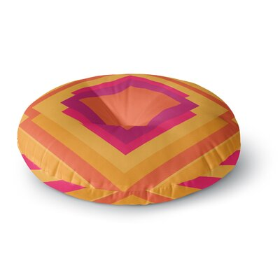 Belinda Gillies Diamond Dayze Round Floor Pillow Size: 23 x 23