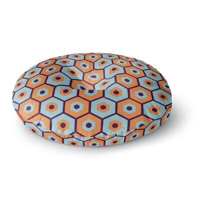 Budi Kwan Busy Round Floor Pillow Size: 26 x 26