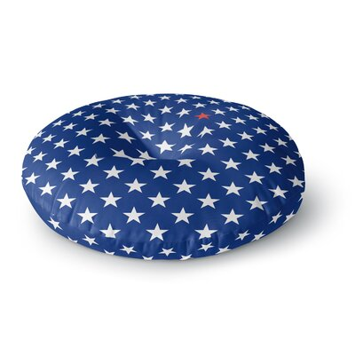 Bruce Stanfield Star Round Floor Pillow Size: 26 x 26